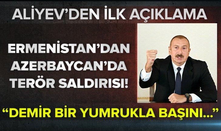 Ermenistan'dan Azerbaycan'da terör saldırısı!