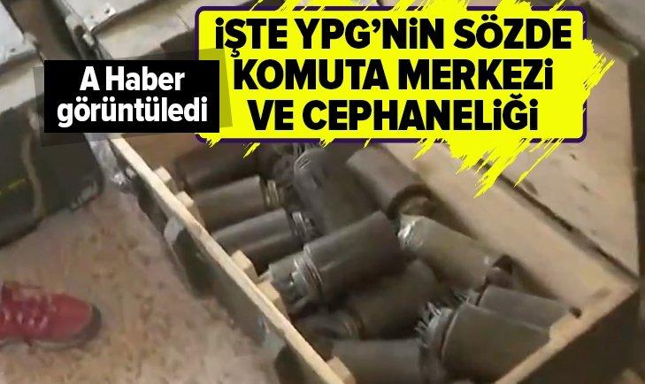 İŞTE YPG'NİN TEL ABYAD'DAKİ SÖZDE ANA KOMUTA MERKEZİ