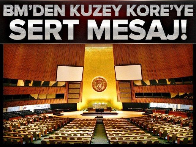 BM, KUZEY KORE'NİN FÜZE DENEMESİNİ KINADI