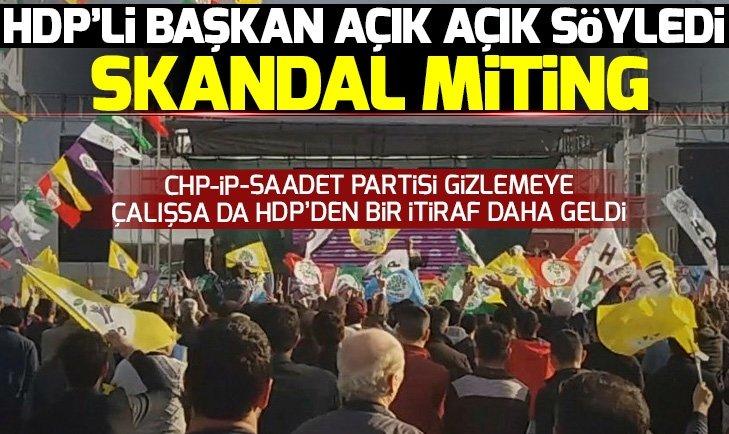 HDP Bursa İl Eş Başkanı Resul Baykara'dan 'CHP' itirafı!