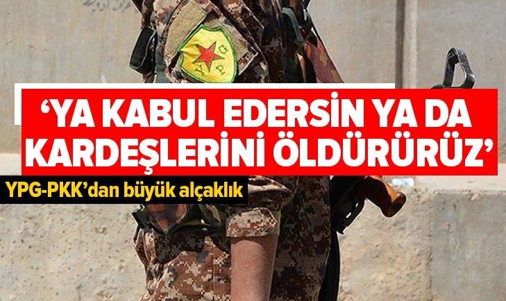 YPG-PKK'DAN BÜYÜK ALÇAKLIK