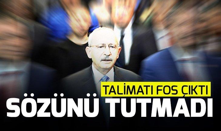 CHP lideri Kılıçdaroğlu sözünü tutmadı! İşte o liste...
