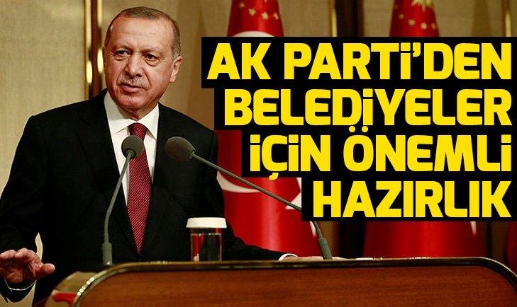 AK Parti'den belediyeler için önemli hazırlık
