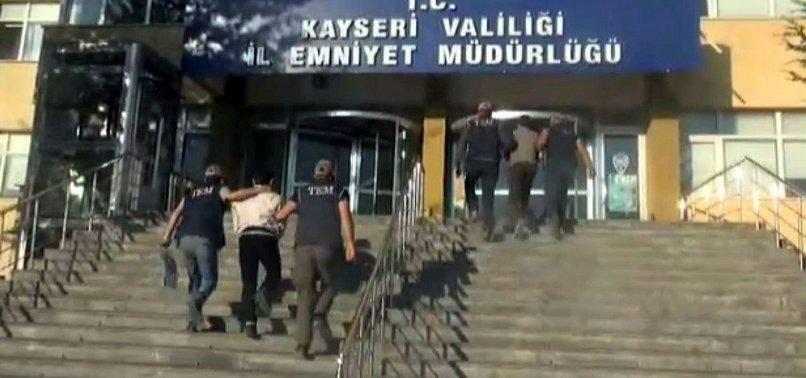 KAYSERİ'DE DEAŞ OPERASYONU
