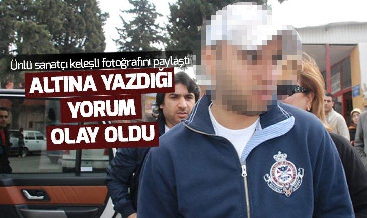 ÜNLÜ ŞARKICI KELEŞLİ FOTOĞRAFINI PAYLAŞTI! SOSYAL MEDYA YIKILDI...