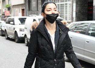 Merve Boluğur bu kez de maskeyi yanlış taktı!