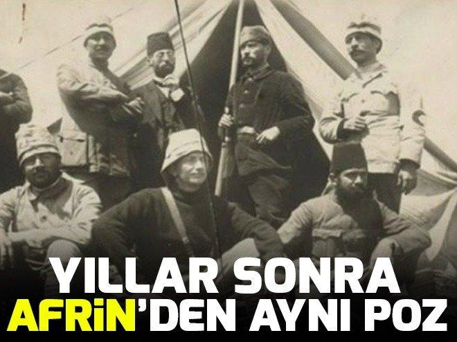 AFRİN'DEN DUYGULANDIRAN FOTOĞRAF