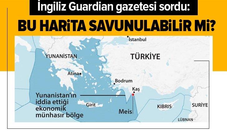 Guardian sordu: Bu harita savunulabilir mi?