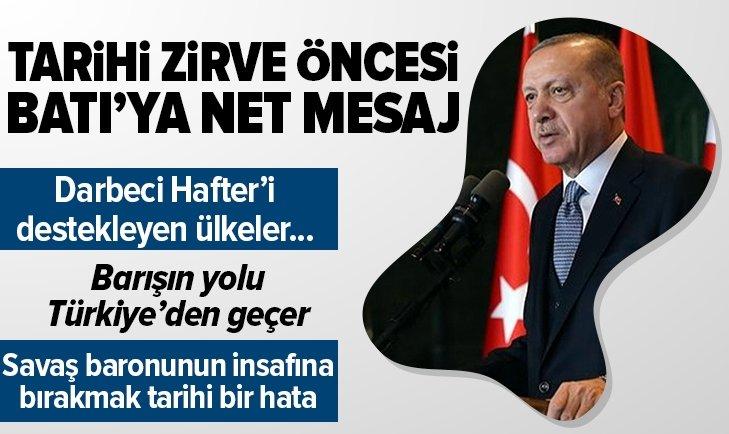 BAŞKAN ERDOĞAN'DAN LİBYA MAKALESİ!