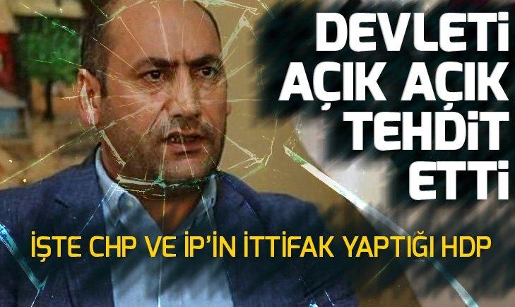 AÇIK AÇIK TEHDİT ETTİ! HDP'Lİ NADİR YILDIRIM'DAN SKANDAL PKK PAYLAŞIMI