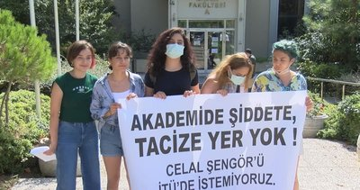 Öğrencisinin kalçasına tokat attığını anlatan Celal Şengör'den pişkin savunma! İTÜ'de protesto: Akademide tacize yer yok
