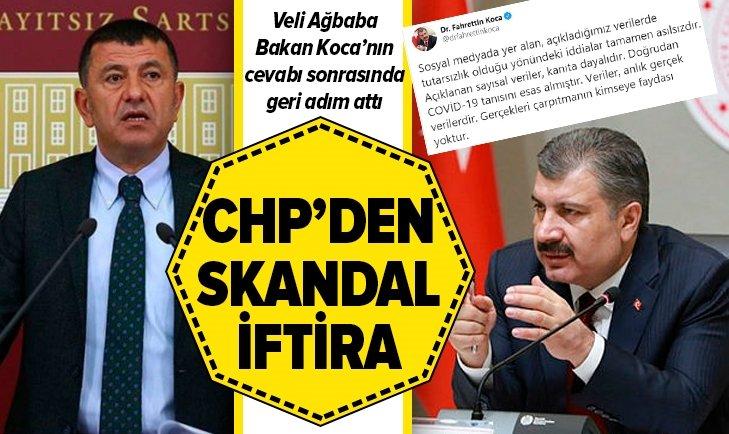 CHP'DEN SKANDAL İFTİRA!