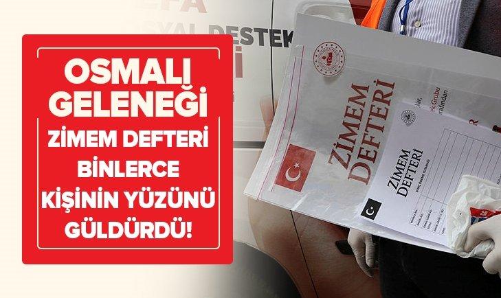 Osmanlı geleneğiyle 200 bakkaldaki borçlar ödendi
