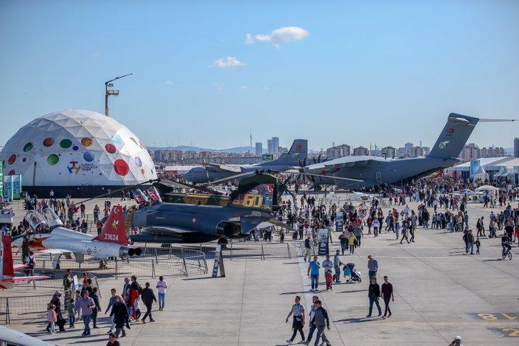 TEKNOFEST İstanbul son gününde misafirlerini bekliyor