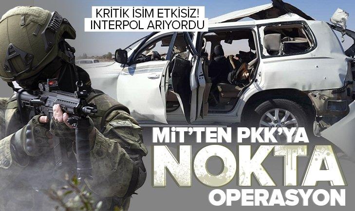 Son dakika: MİT'ten operasyon! Kırmızı bültenle aranan PKK'nın sözde merkez komite üyesi Engin Karaaslan