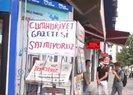Batman'da Cumhuriyet paçavrasına boykot: Gazete standlarına bu yazıyı astılar