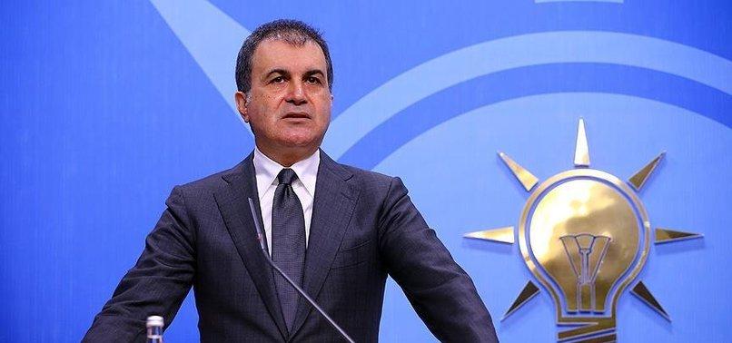 AK Parti Sözcüsü Ömer Çelik'den CHP'ye Ayasofya Camii yanıtı