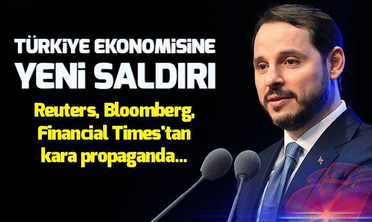 Türkiye ekonomisine yeni saldırı! Bakan Berat Albayrak'ın ABD ziyareti kimleri, neden rahatsız etti?