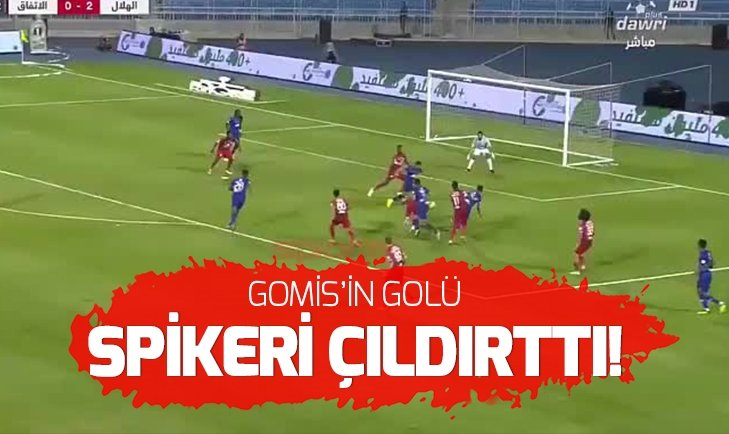 GOMİS'İN MÜTHİŞ GOLÜ SPİKERİ ÇILDIRTTI!