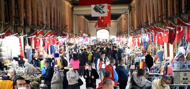 Edirne'de Bulgar turistlerin akın ettiği Ulus Pazarı kapatıldı
