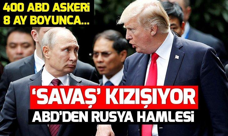 Rusya-ABD 'savaş'ı kızışıyor! ABD'den Rusya hamlesi