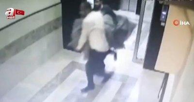 İş adamını halıya sarıp kaçırdılar! O görüntüler ortaya çıktı |Video