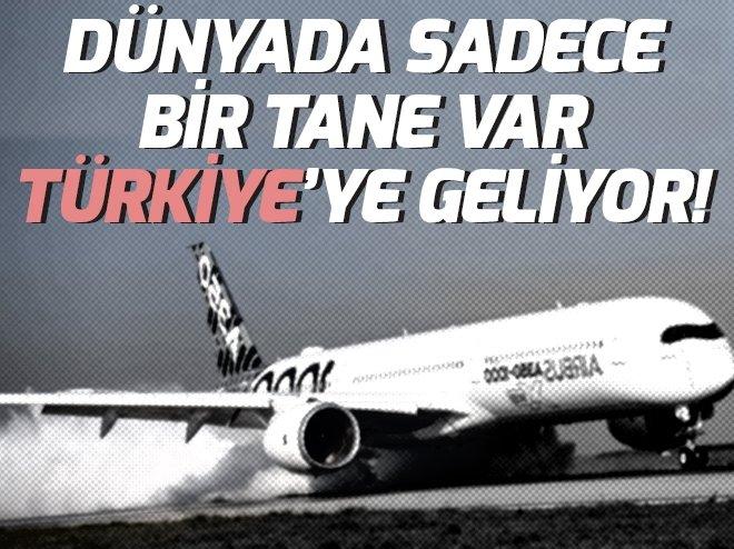 Dünyada sadece bir tane var Antalya'ya geliyor!