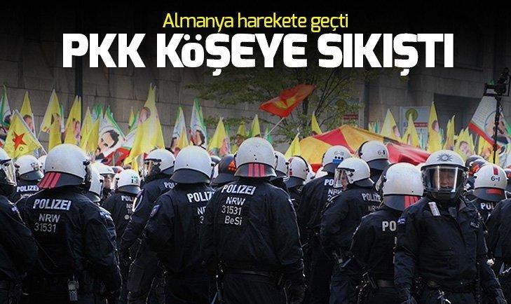 PKK'ya kötü haber! Almanya terör eylem yeri olmayacak
