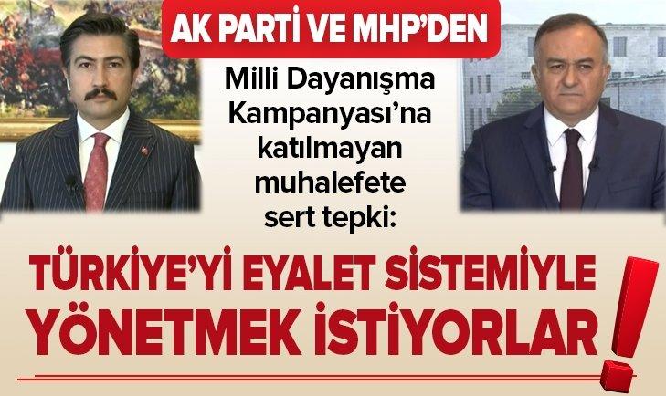 TÜRKİYE'Yİ EYALET SİSTEMİYLE YÖNETMEK İSTİYORLAR