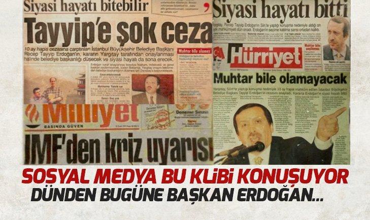 Sosyal medya Erdoğan için hazırlanan bu klibi konuşuyor