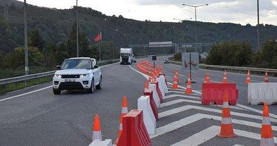 Bolu Dağı Tüneli'ni kullanacak sürücüler dikkat: O güzergah trafiğe kapatıldı