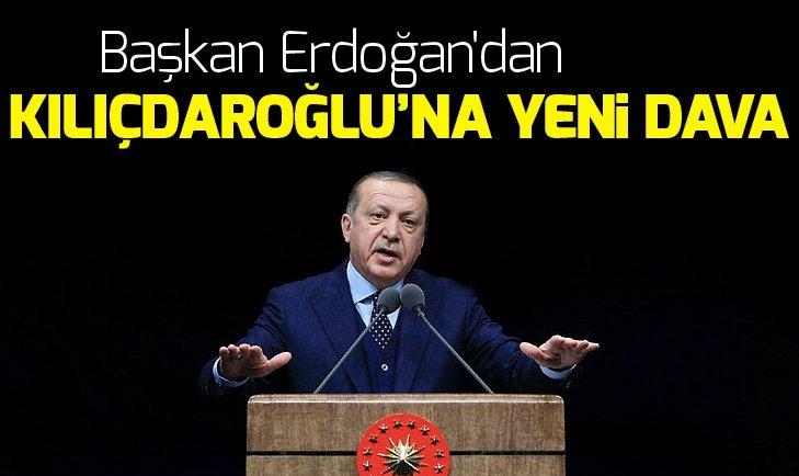 Başkan Erdoğan'dan Kemal Kılıçdaroğlu'na tazminat davası