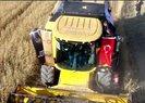 Son dakika: Başkan Erdoğan biçerdöverde buğday hasatı yaptı