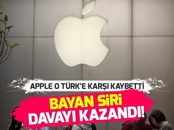 'BAYAN SİRİ'NİN APPLE'A AÇTIĞI DAVADA KARAR