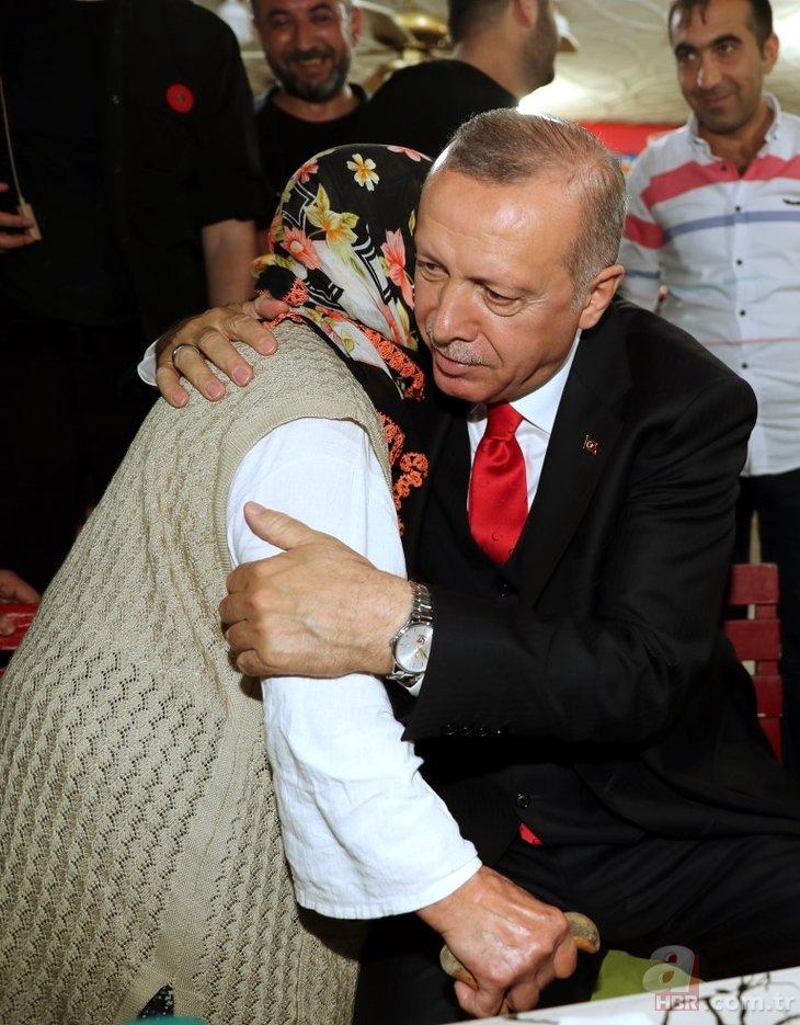 Başkan Erdoğan'dan Üsküdar'da sürpriz ziyaret