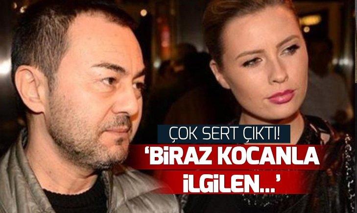 Serdar Ortaç'ın eşi Chloe Loughnan'a sosyal medyadan kızdıran yorum