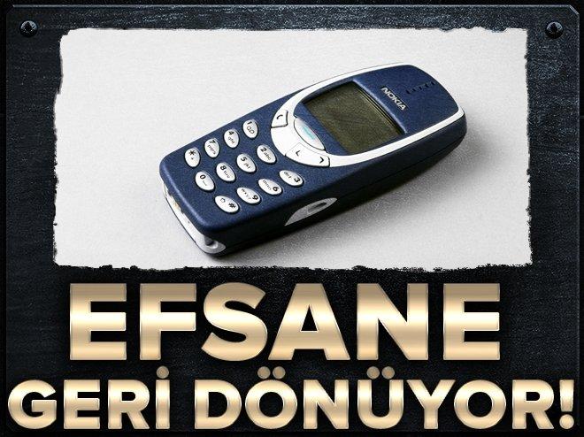 NOKİA'NIN 3310 MODELİ GERİ DÖNÜYOR