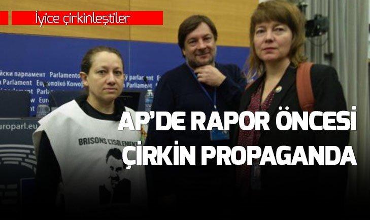 AP'DE RAPOR ÖNCESİ ÇİRKİN PROPAGANDA