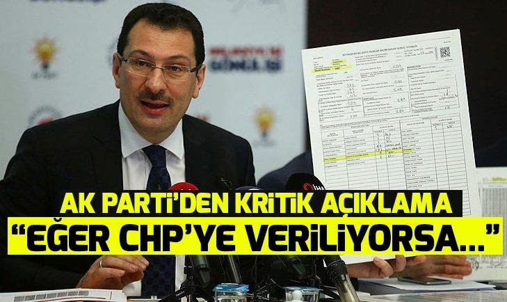 AK Parti'den seçim sonuçlarıyla ilgili kritik açıklama