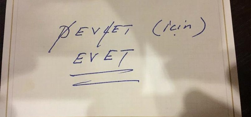 DEVLET BAHÇELİ'DEN 'EVET' FORMÜLÜ
