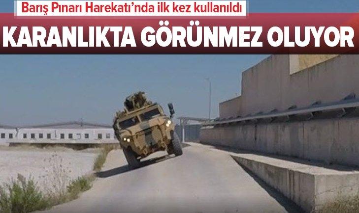 BARIŞ PINARI HAREKATI'NDA İLK KEZ KULLANILDI!