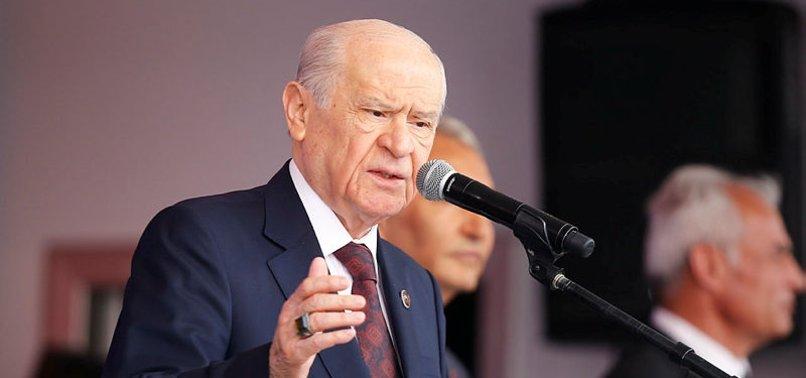 BAHÇELİ: HDP, CHP'YE AYAR VERİYOR