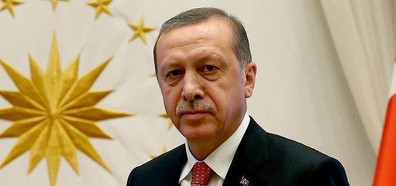 BAŞKAN ERDOĞAN'DAN GALATASARAY'A TEBRİK