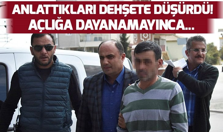 AÇ KALINCA POLİSİ ARAYIP CİNAYETİ İTİRAF ETTİ!