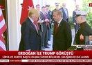 Son dakika: Başkan Erdoğan ve ABD Başkanı Trump arasında kritik görüşme! İki lider Libya ve Suriye konularını ele aldı