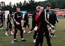Beşiktaş'ta Sergen Yalçın takımın başında ilk antrenmanına çıktı