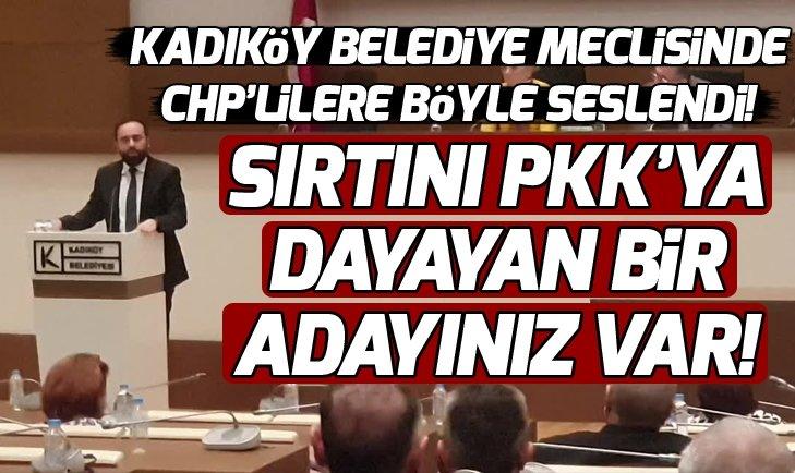 Kadıköy Belediye Meclisinde PKK kavgası!