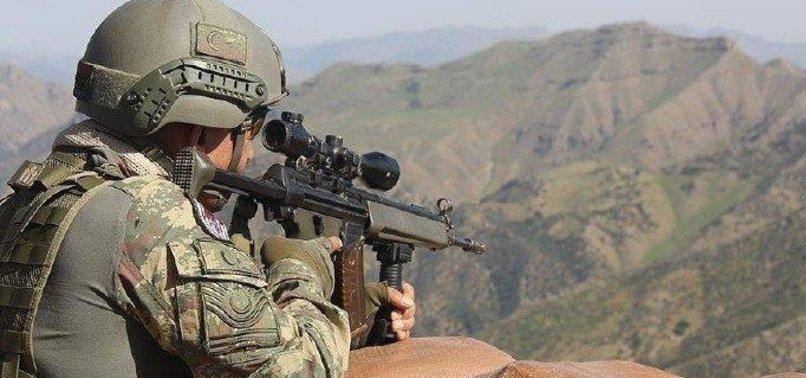 BAKANLIK AÇIKLADI: PKK'YA BİR DARBE DAHA