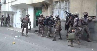 Son dakika: Diyarbakır'da organize suç çetesine hava destekli operasyon: 25 gözaltı! Cezaevinden örgütü yönetmişler