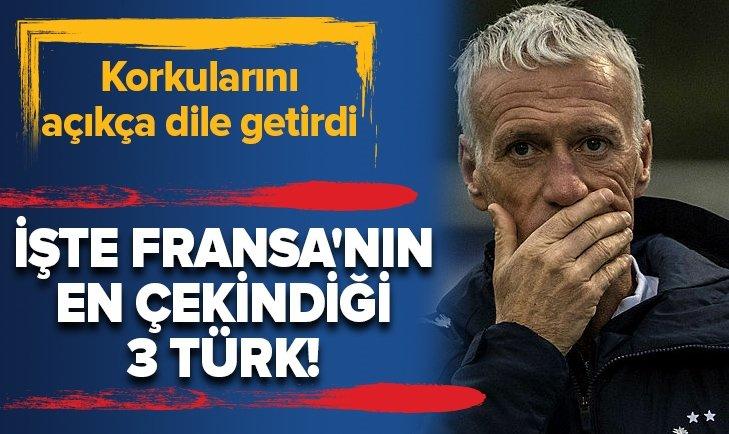 İŞTE FRANSA'NIN EN ÇEKİNDİĞİ 3 TÜRK!